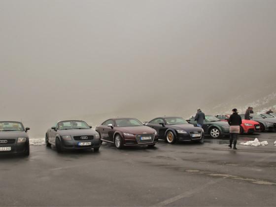 Sustenpass im Nebel