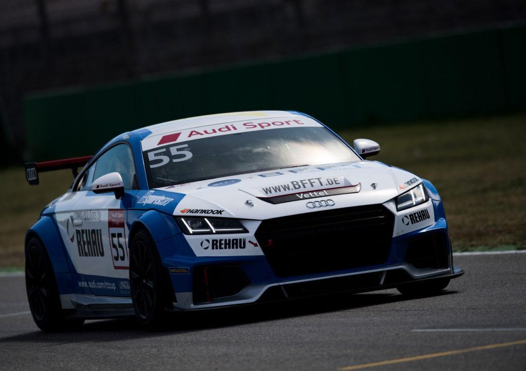 Saisonauftakt des Audi Sport TT Cup in Hockenheim mit 18 Teilnehmern