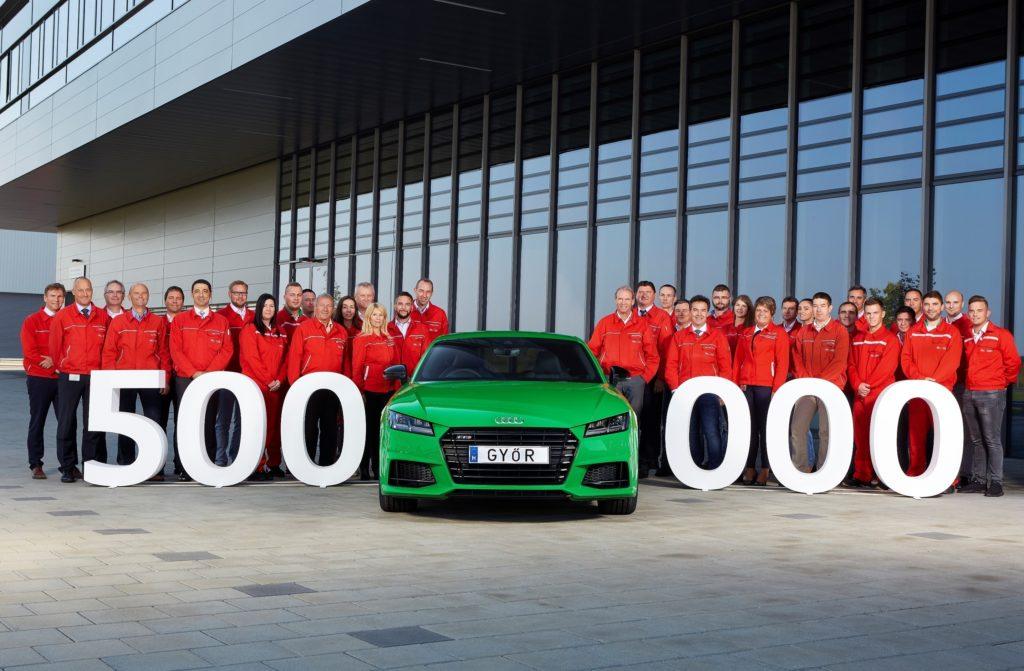 """War klar, dass es ein TT ist: eine halbe Million Audi """"made in Győr"""""""