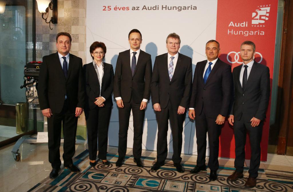 Audi Hungaria: Mit Zukunftsprojekten ins Jubiläumsjahr