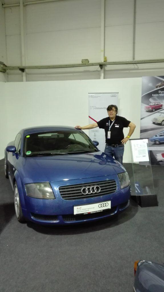 Audi TT-Owners-Club mit dem ACI auf der Essen Techno Classica