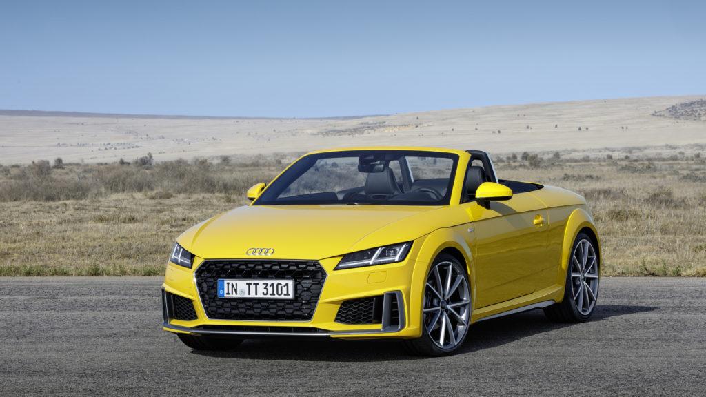 Audi TT – Update für die Design-Ikone
