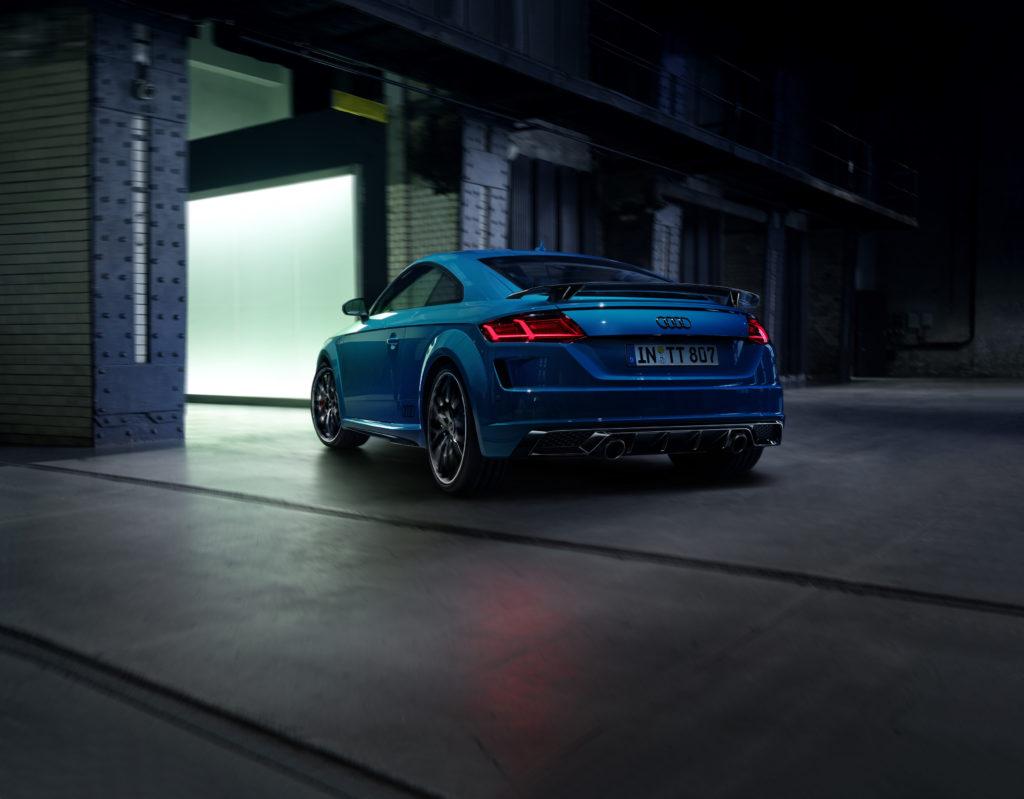 Viel Liebe zum Detail und noch schärfer: Der Audi TT S line competition plus