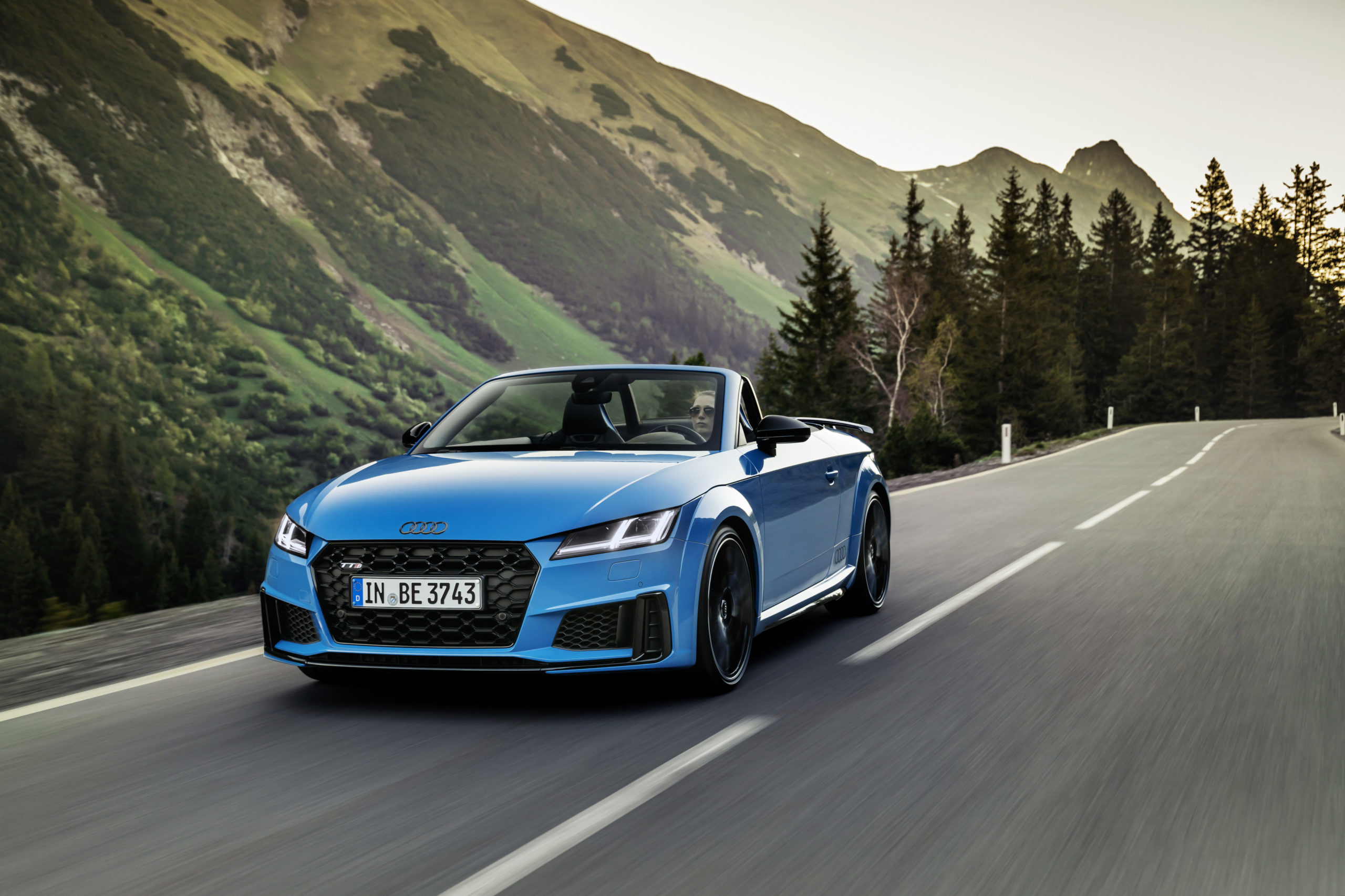 Der Audi TTS competition plus